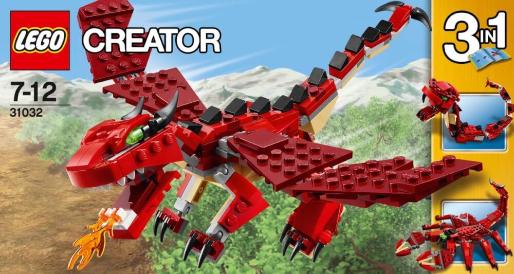 31032 LEGO Creator Rote Kreaturen günstig kaufen