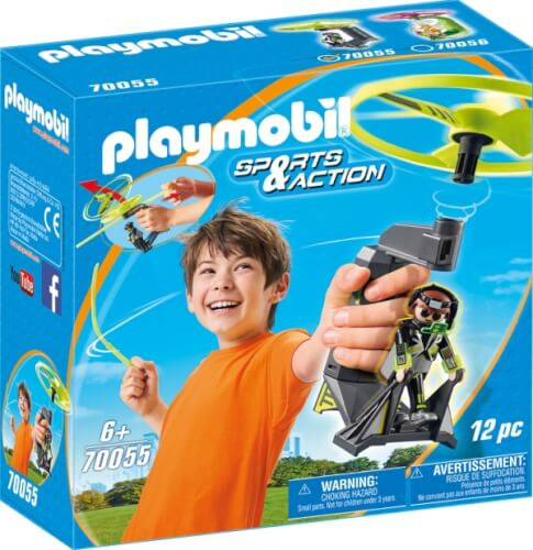 Playmobil 70055 Top Agents Pull String Flyer