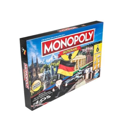 Hasbro E1553100 Monopoly Deutschland, für 2-6 Spieler, ab 8 Jahren