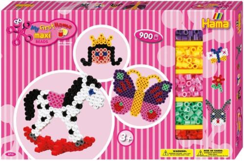 Hama Bügelperlen Maxi Gigantische Geschenkpackung Pink 2