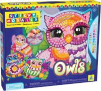 Star Wars Sticky Mosaics: Owls
