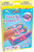 Sticky Mosaics Butterfly Treasure Box  - kleines Schmuckkästchen zum Verziehren