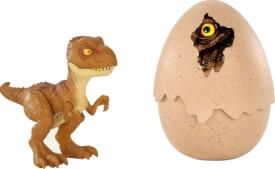 Mattel FMB93 Jurassic World Schlüpfender Dino Tyrannosaurus ReJa