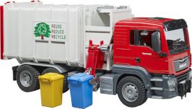 Bruder 03761 MAN TGS Seitenlader Müll-LKW