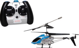Racer R/C Polizei Helikopter 2.4 GHz, mit Gyro
