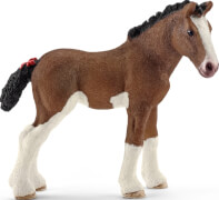 Schleich Farm World Pferde - 13810 Clydesdale Fohlen, ab 3 Jahre