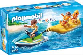 Playmobil 6980 Jetski mit Bananenboot