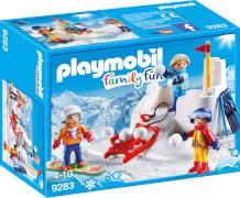 Playmobil 9283 Schneeballschlacht