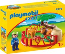 Playmobil 9378 Löwengehege