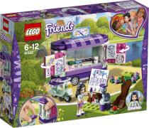 LEGO® Friends 41332 Emmas rollender Kunstkiosk, 210 Teile, ab 6 Jahre