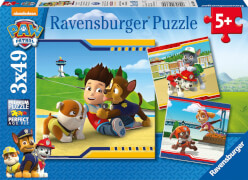 Ravensburger 09369 Puzzle Paw Patrol Helden im Fell 3 x 49 Teile