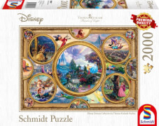 Schmidt Spiele Puzzle Thomas Kinkade Disney Dreams Collection, 2000 Teile