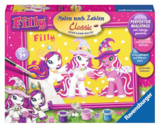 Ravensburger 282777  Malen nach Zahlen - Filly World