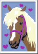 Ravensburger 27693 Malen nach Zahlen Liebes Pferd