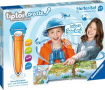 Ravensburger 00805 tiptoi® CREATE Starter-Set: Stift und Weltreise-Buch