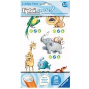 Ravensburger 009084 tiptoi® CREATE Sticker Lustige Tiere