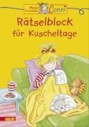 Conni Gelbe Reihe: Rätselblock für Kuscheltage, Taschenbuch, ab 4 Jhren