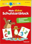Tessloff LERNSTERN Mein dicker Schulstartblock. Buchstaben, Zahlen, Konzentration