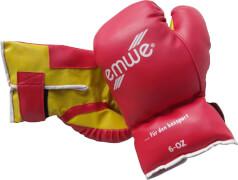 Boxhandschuhe, 6Uz., rot, für 5 - 7 Jahre