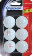 Schildkröt TT-Bälle 3 6er Pack Poly / Kunststoff, weiß
