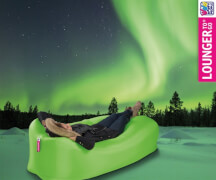 Happy People LOUNGER TO GO ca. 240 x 70 cm ohne Luft