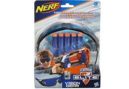 Hasbro A5068E24 NERF - N-Strike Elite Schutzbrille mit 5 Darts, ab 8 Jahren