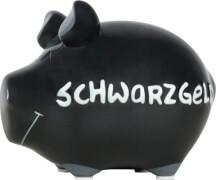 Sparschwein ''Schwarzgeld'' - Kleinschwein von KCG - Höhe ca. 9 cm