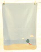 Babydecke Juwel Fuchs jade, 70 x 90 cm