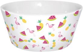 Flamingo Müslischale Früchte
